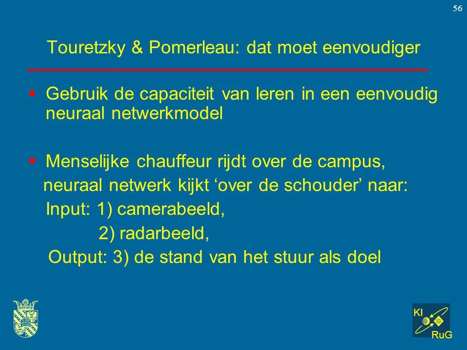 Touretzky & Pomerleau: dat moet eenvoudiger