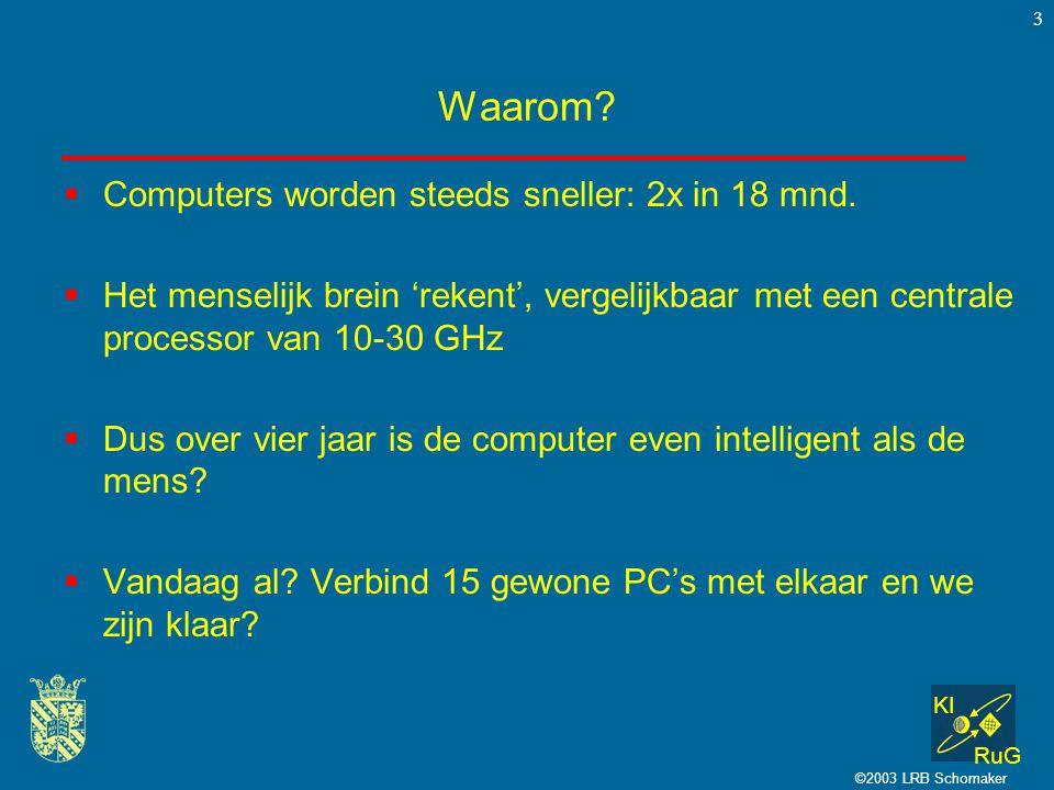 Waarom Computers worden steeds sneller: 2x in 18 mnd.