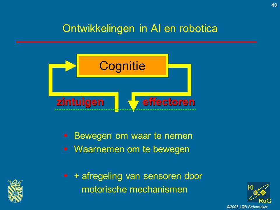 Ontwikkelingen in AI en robotica