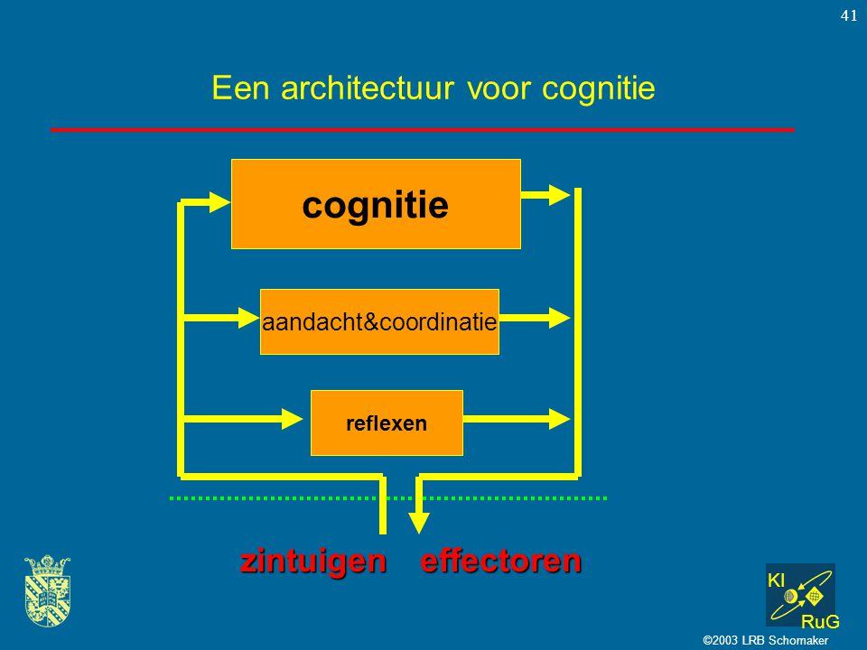 Een architectuur voor cognitie