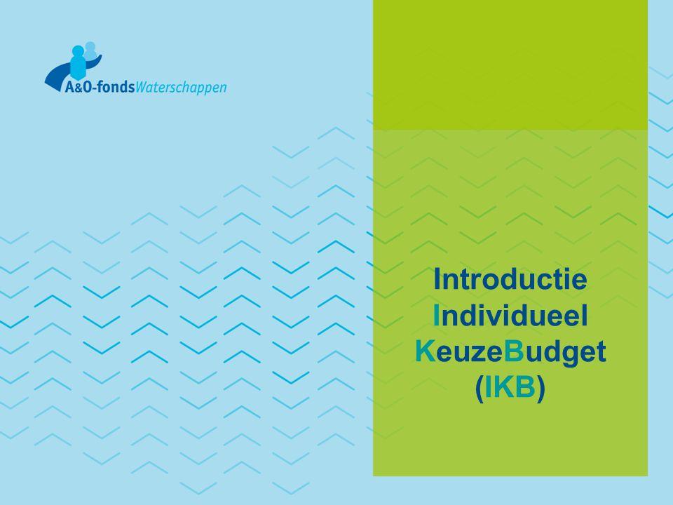 Introductie Individueel KeuzeBudget (IKB)