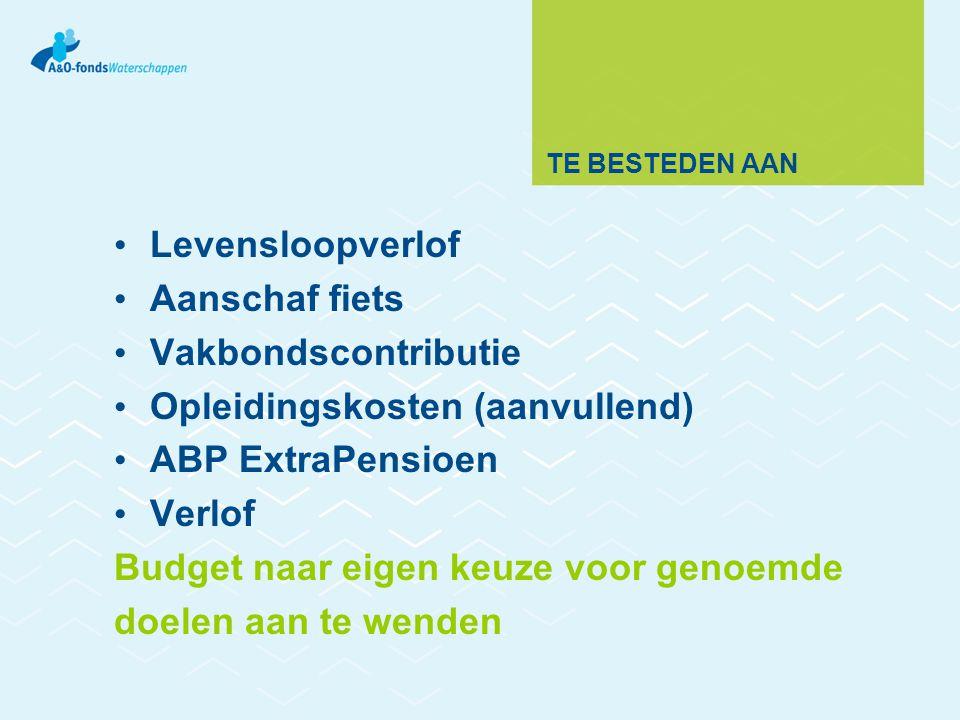 Opleidingskosten (aanvullend) ABP ExtraPensioen Verlof
