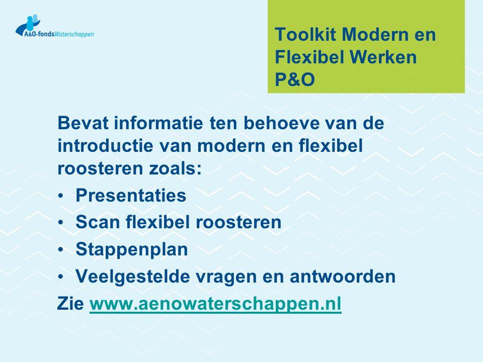 Toolkit Modern en Flexibel Werken P&O