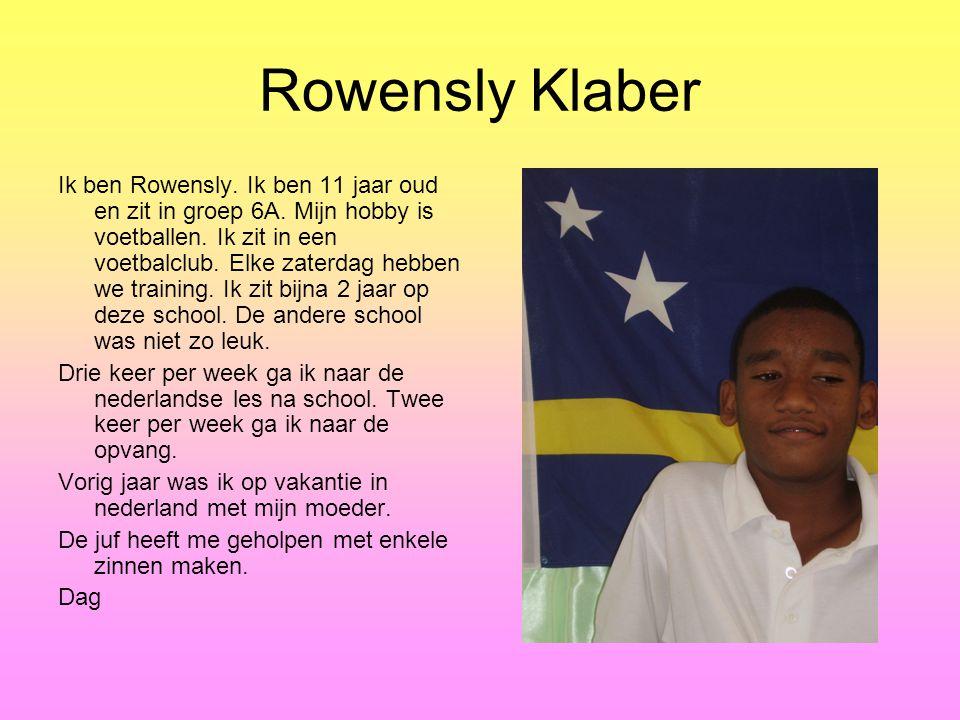 Rowensly Klaber