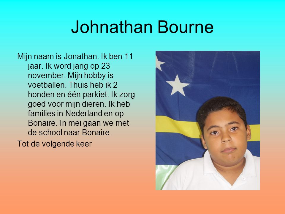 Johnathan Bourne