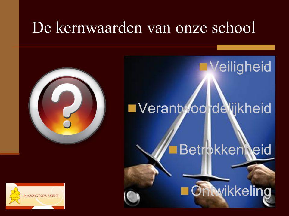 De kernwaarden van onze school