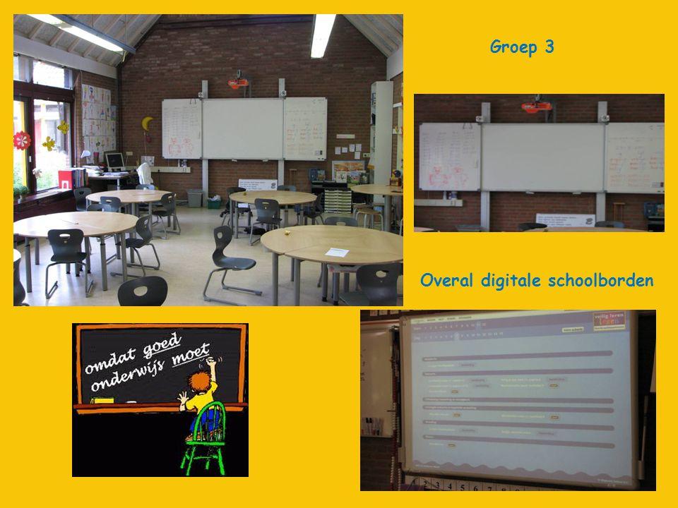 Groep 3 Overal digitale schoolborden