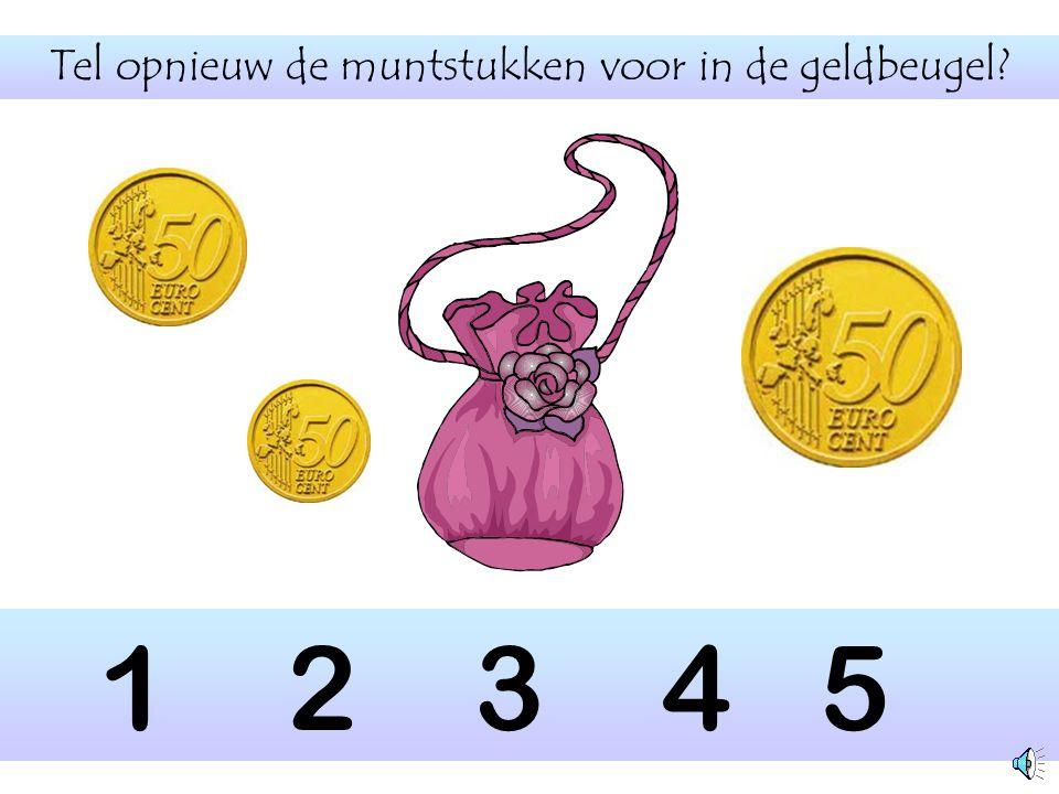 Tel opnieuw de muntstukken voor in de geldbeugel