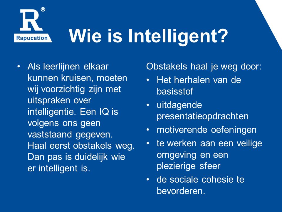 Wie is Intelligent