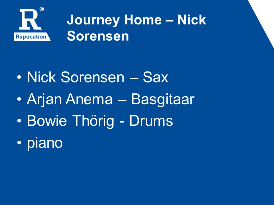 Journey Home – Nick Sorensen