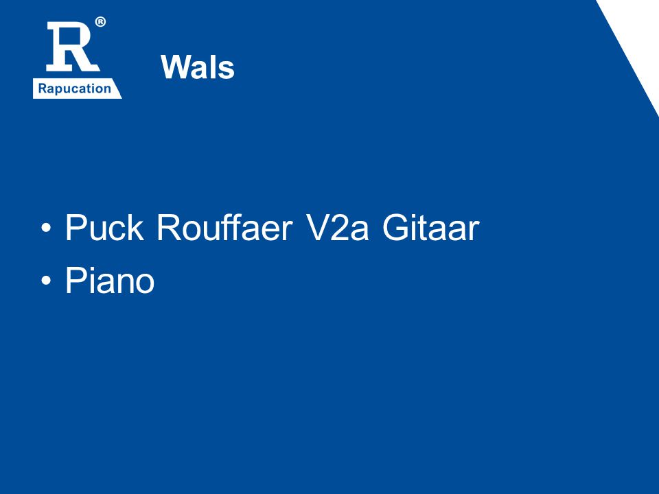 Puck Rouffaer V2a Gitaar Piano