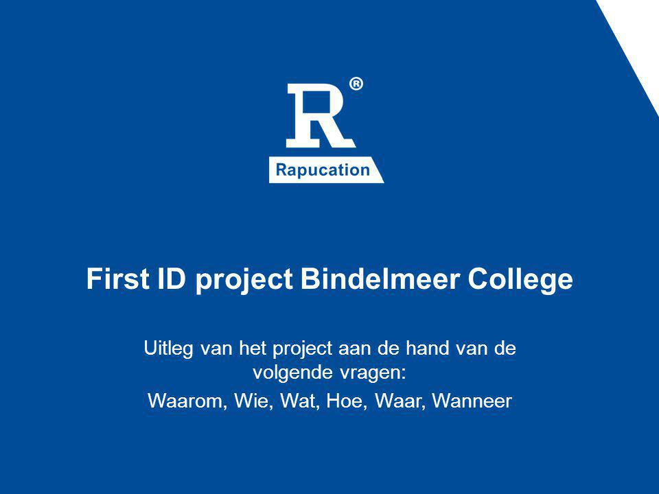 First ID project Bindelmeer College