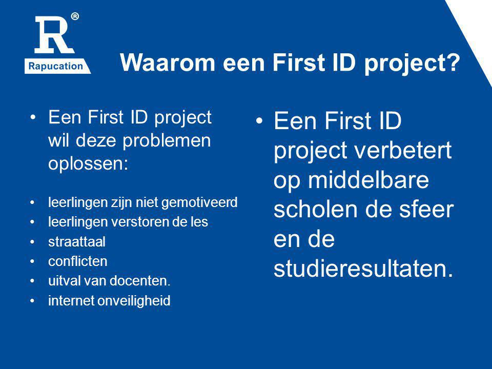 Waarom een First ID project