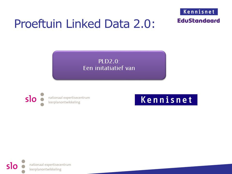 Proeftuin Linked Data 2.0: