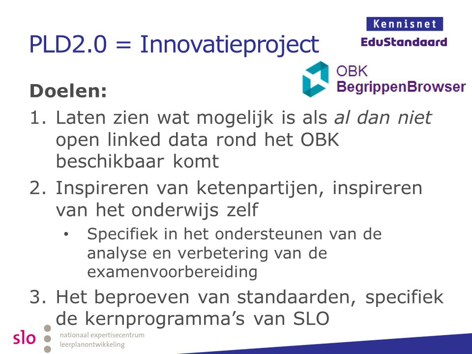 PLD2.0 = Innovatieproject