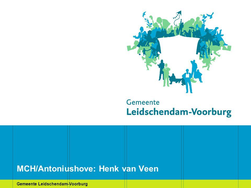 MCH/Antoniushove: Henk van Veen