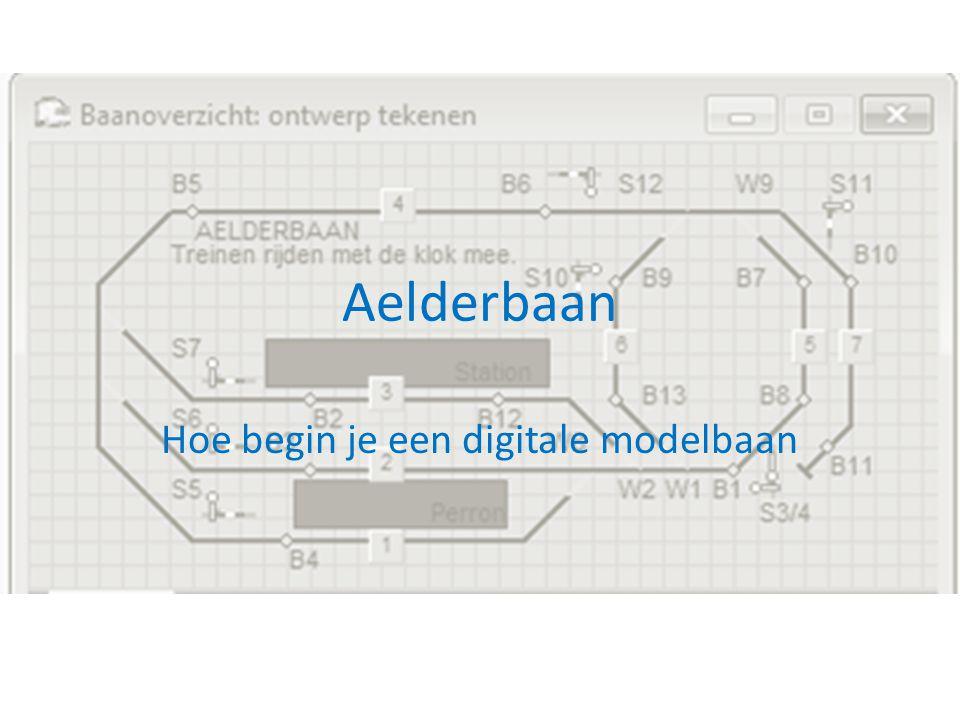 Hoe begin je een digitale modelbaan