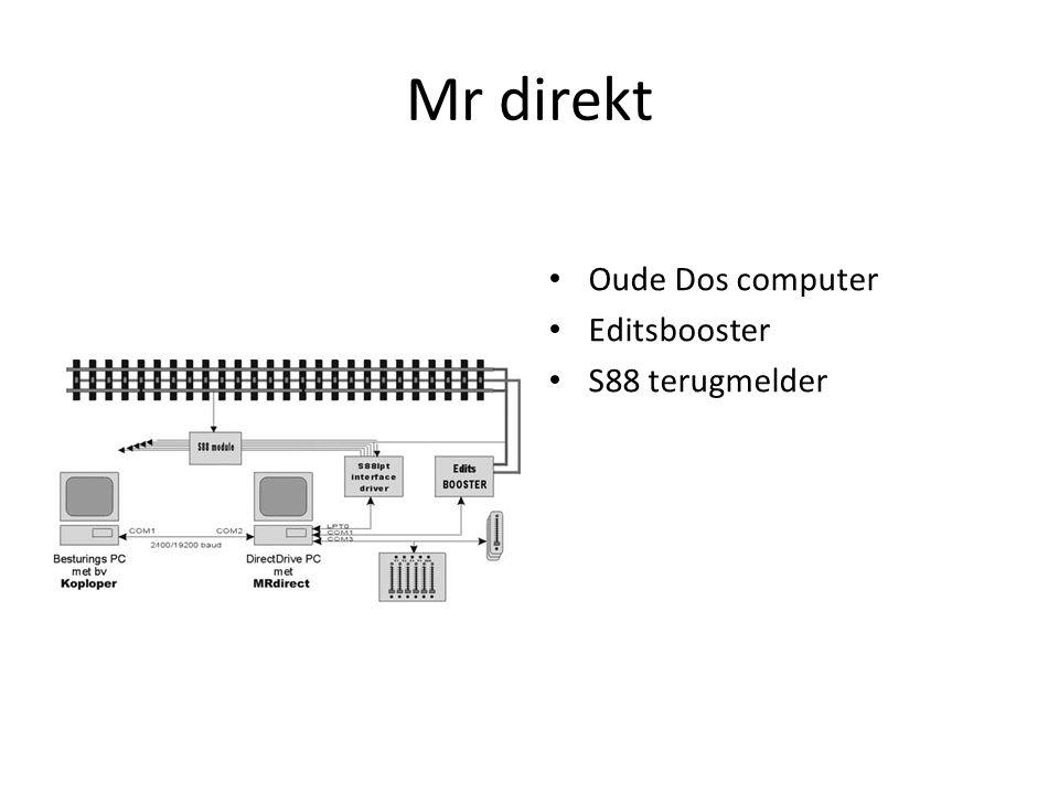 Mr direkt Oude Dos computer Editsbooster S88 terugmelder
