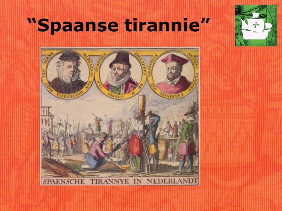 Spaanse tirannie
