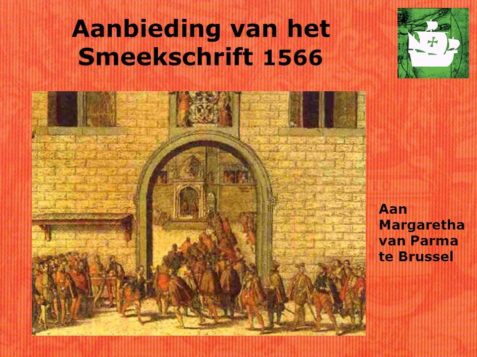 Aanbieding van het Smeekschrift 1566