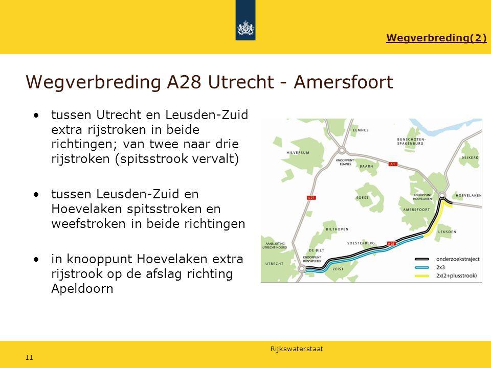 Wegverbreding A28 Utrecht - Amersfoort