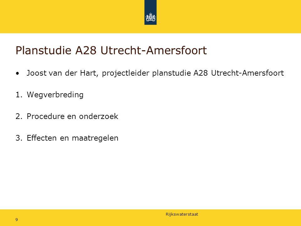 Planstudie A28 Utrecht-Amersfoort