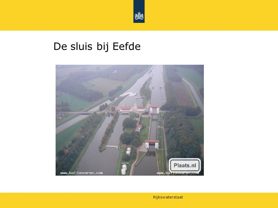 De sluis bij Eefde