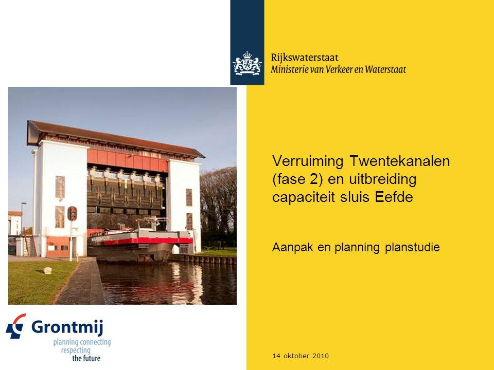 Aanpak en planning planstudie