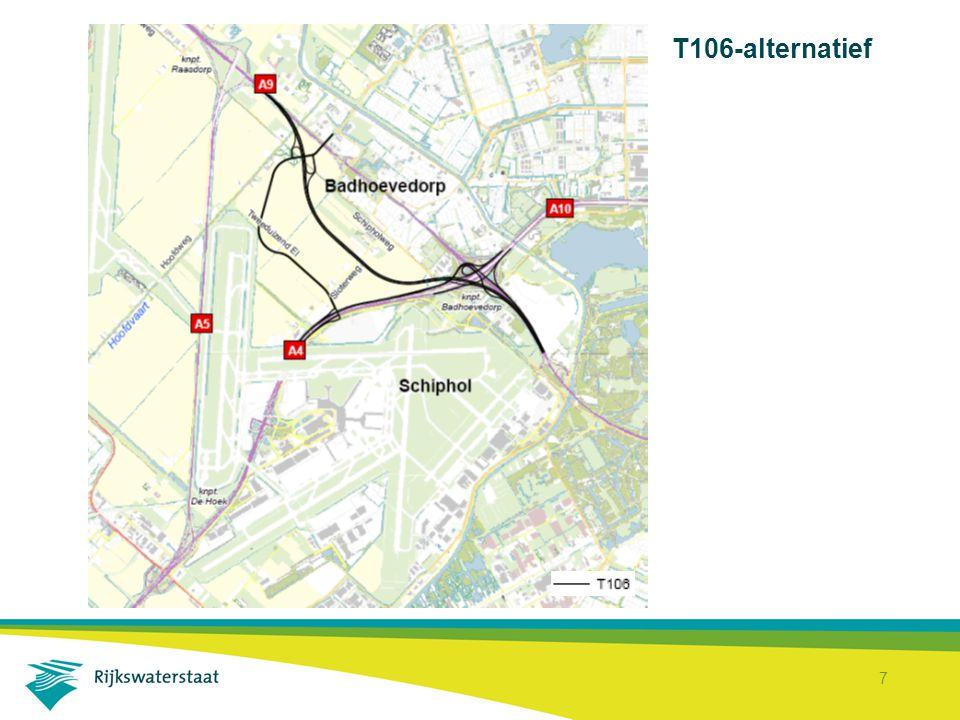 T106-alternatief
