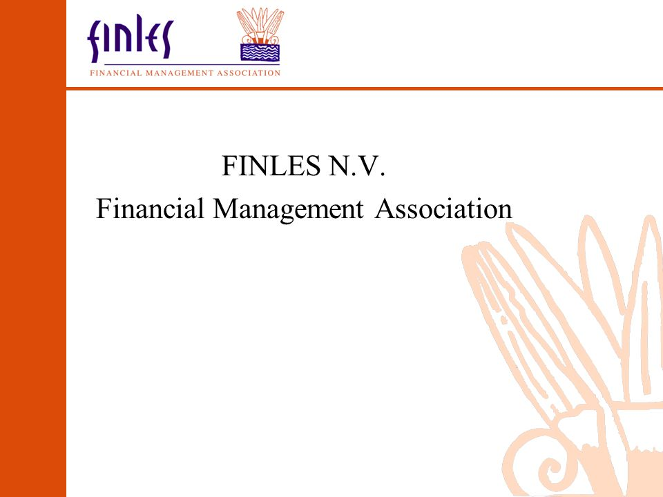 FINLES N.V. Financial Management Association