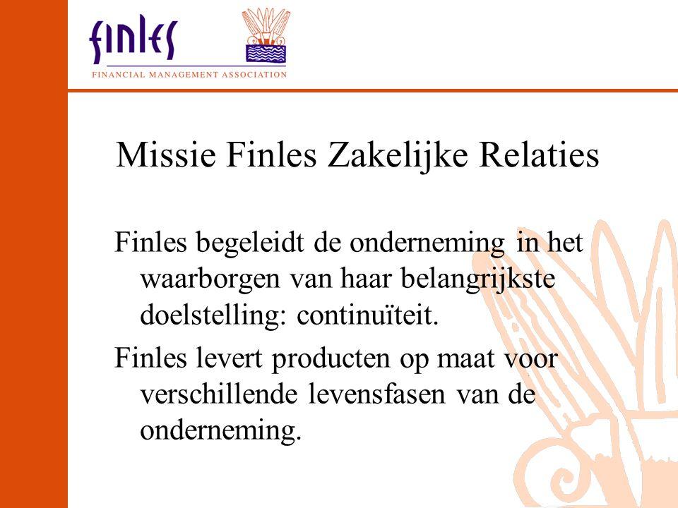 Missie Finles Zakelijke Relaties