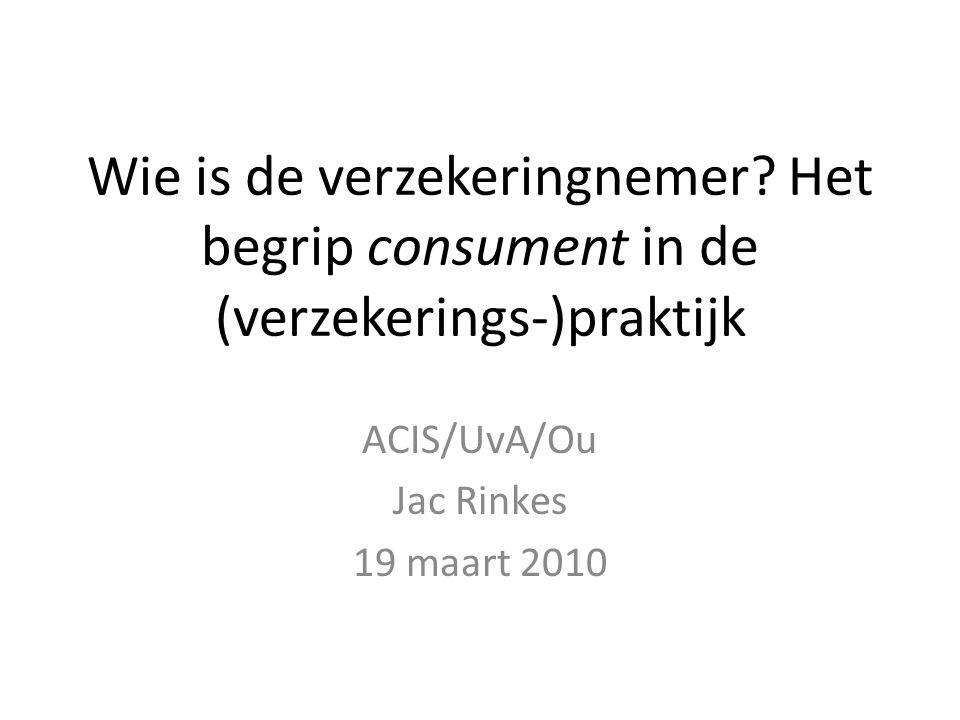 ACIS/UvA/Ou Jac Rinkes 19 maart 2010
