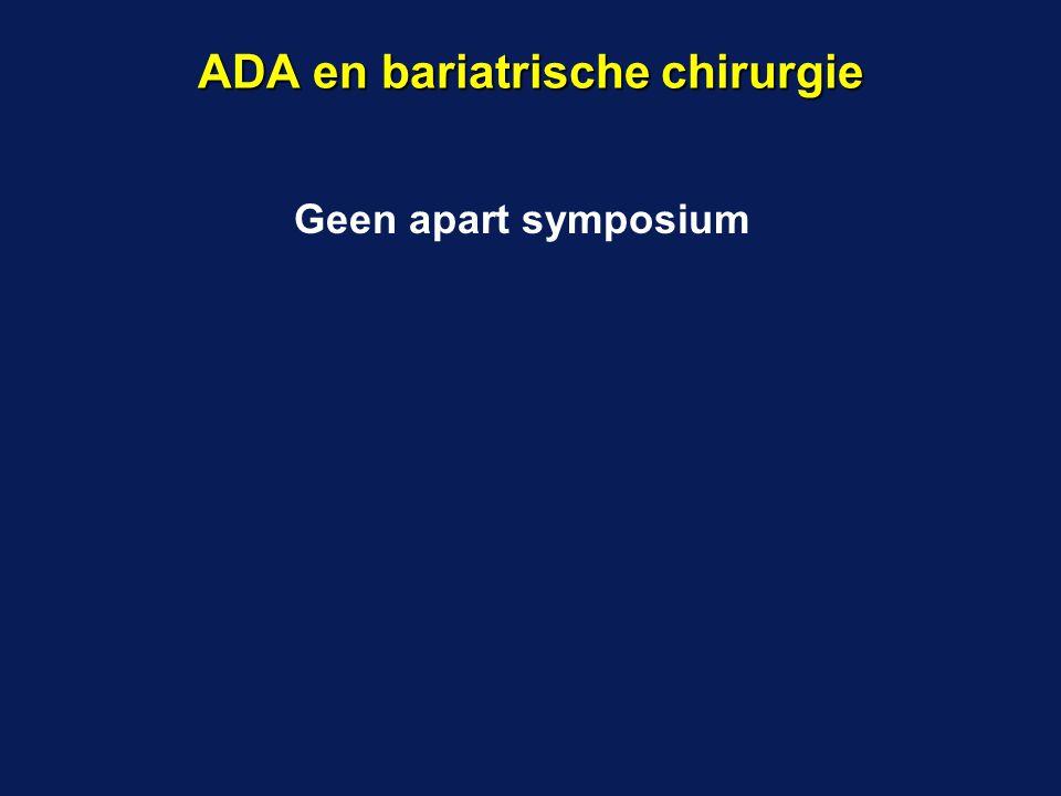 ADA en bariatrische chirurgie
