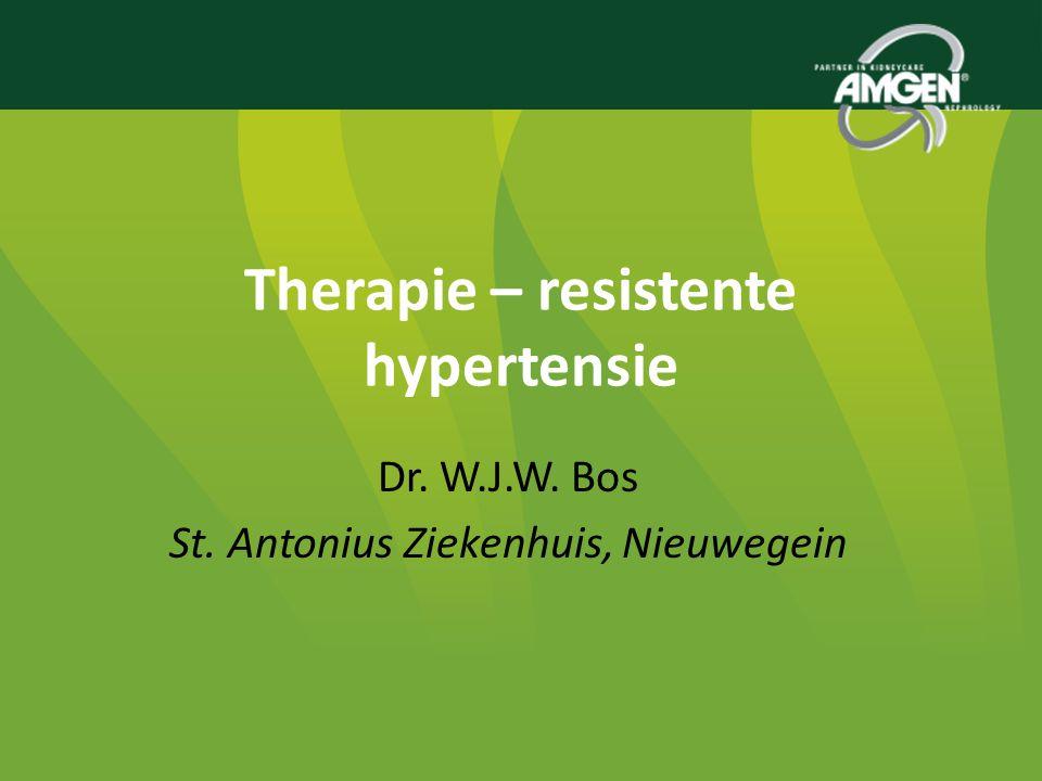 Therapie – resistente hypertensie
