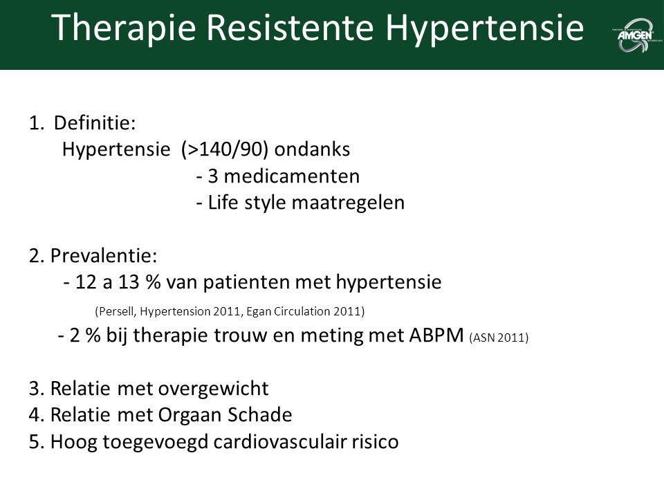 Therapie Resistente Hypertensie
