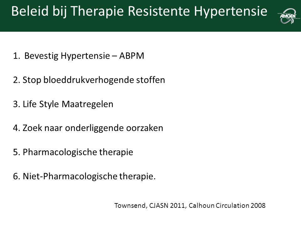 Beleid bij Therapie Resistente Hypertensie