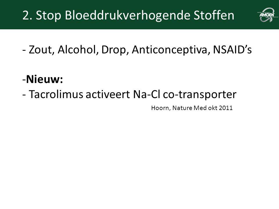 2. Stop Bloeddrukverhogende Stoffen