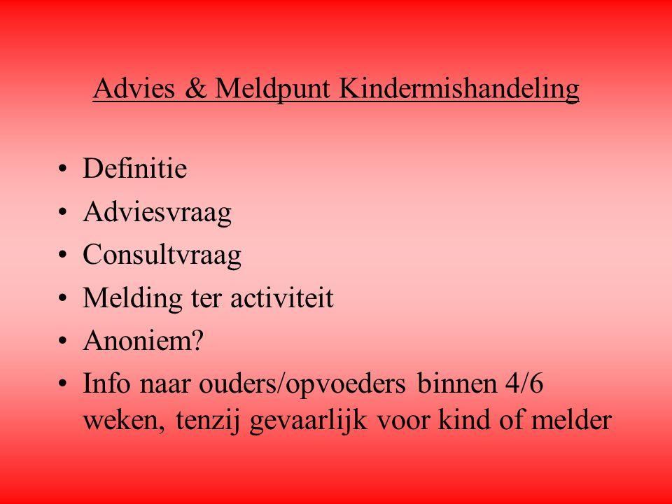Advies & Meldpunt Kindermishandeling