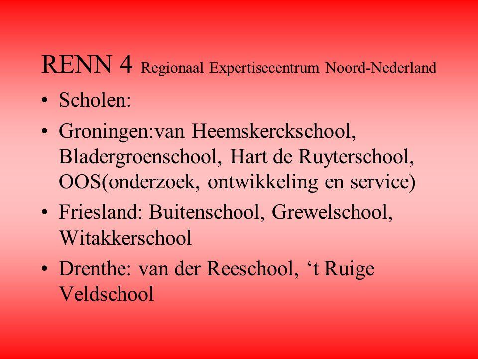 RENN 4 Regionaal Expertisecentrum Noord-Nederland
