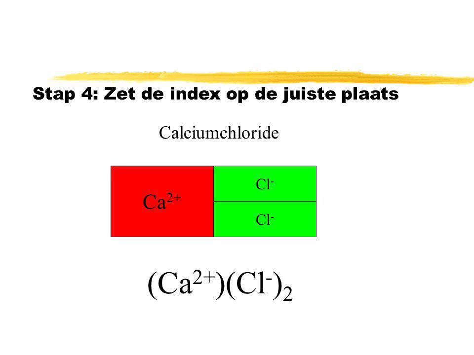 (Ca2+)(Cl-)2 Ca2+ Calciumchloride