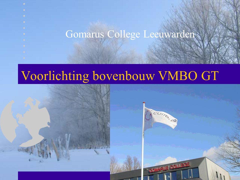 Voorlichting bovenbouw VMBO GT