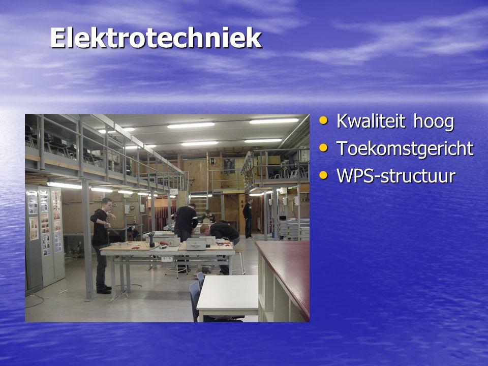 Elektrotechniek Kwaliteit hoog Toekomstgericht WPS-structuur