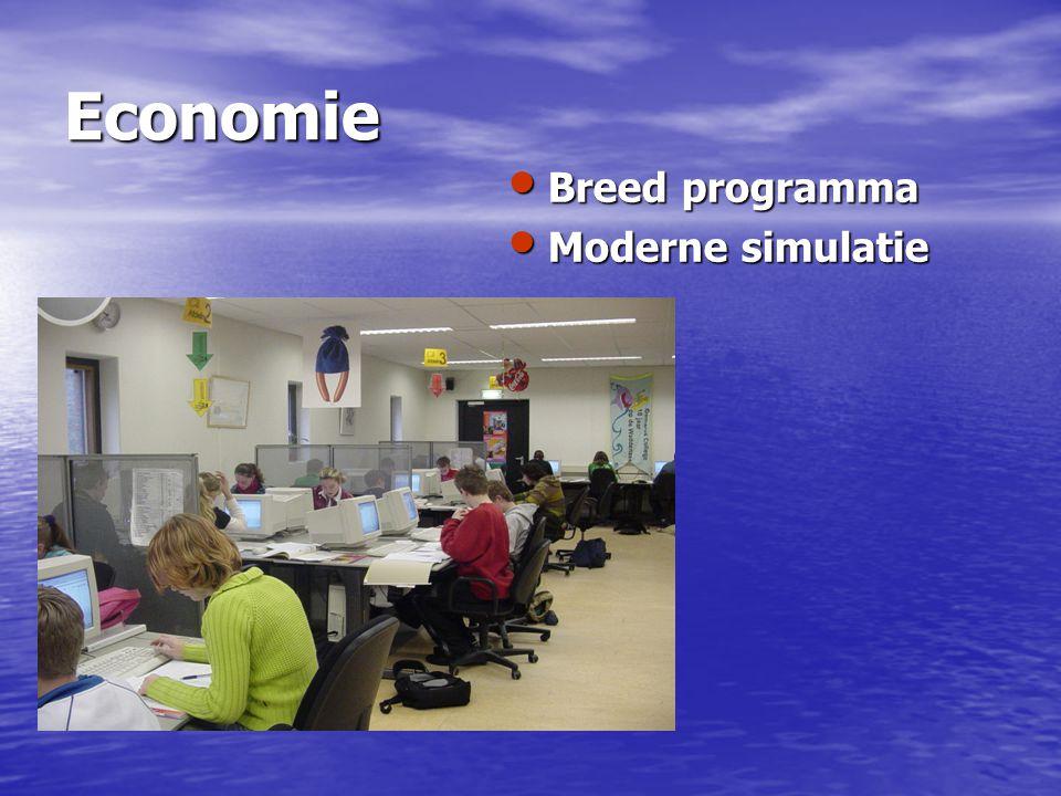 Economie Breed programma Moderne simulatie