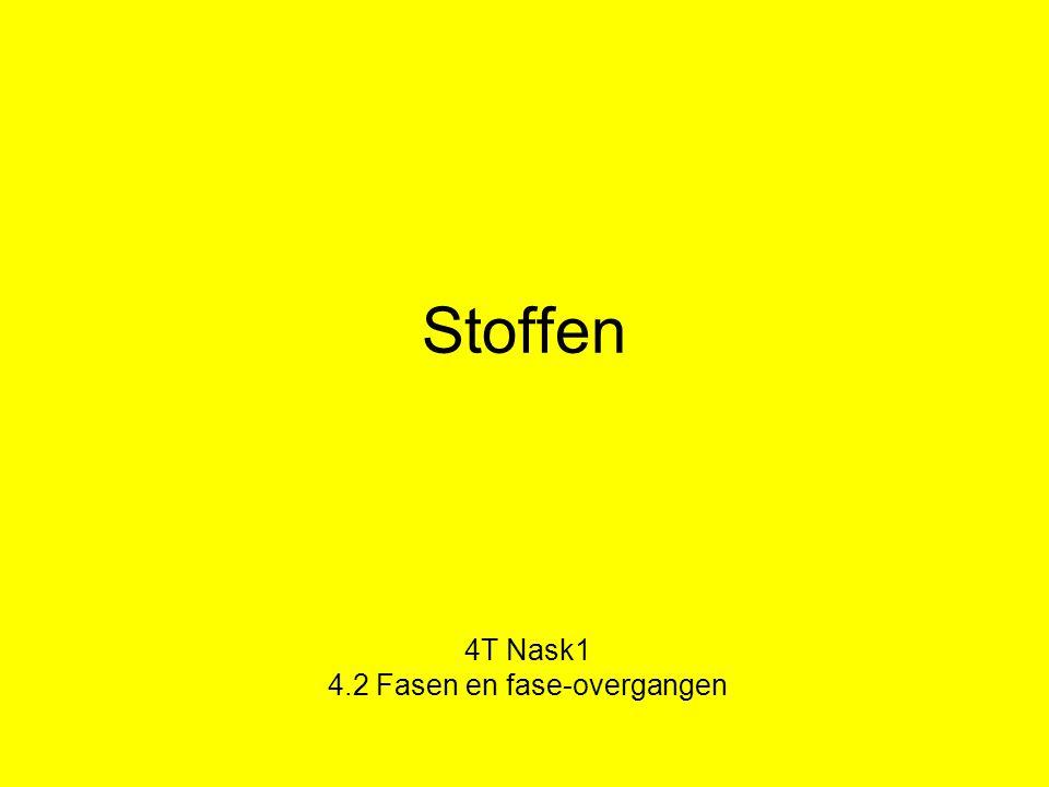 4T Nask1 4.2 Fasen en fase-overgangen