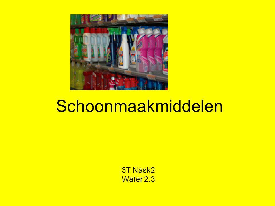 Schoonmaakmiddelen 3T Nask2 Water 2.3