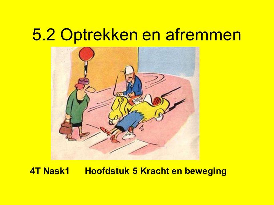 4T Nask1 Hoofdstuk 5 Kracht en beweging