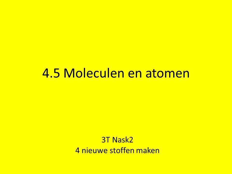 3T Nask2 4 nieuwe stoffen maken