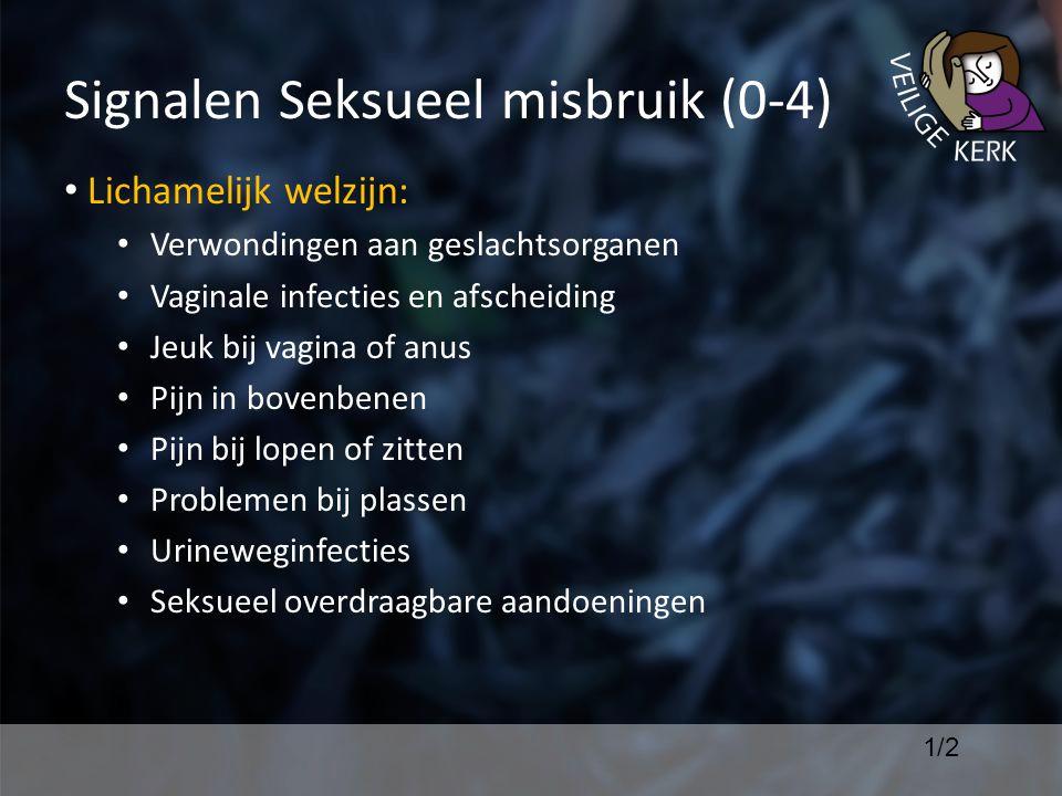 Signalen Seksueel misbruik (0-4)