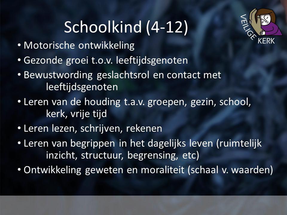 Schoolkind (4-12) Motorische ontwikkeling