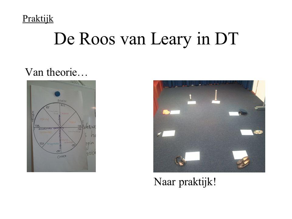 Praktijk De Roos van Leary in DT Van theorie… Naar praktijk!